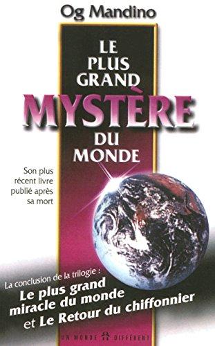 9782892253238: Le plus grand mystère du monde