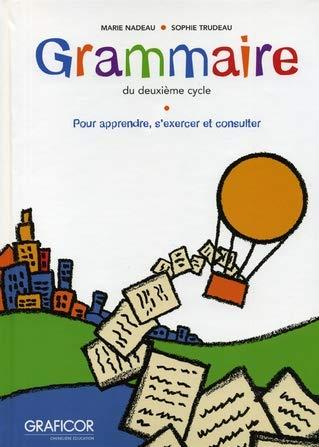 9782892428261: grammaire du 2eme cycle