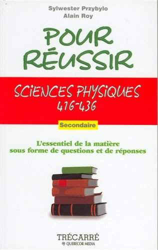 Sciences Physiques 416-436: Przybylo, Sylwester