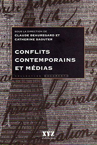 9782892611960: Conflits contemporains et médias