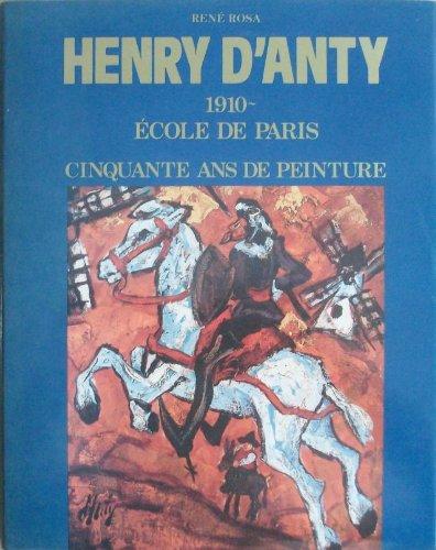 HENRY D'ANTY. 1910. Ecole de Paris -: ROSA ( René