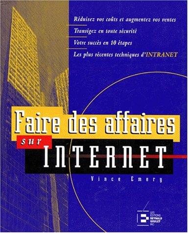 Faire des affaires sur Internet: Emery, Vince
