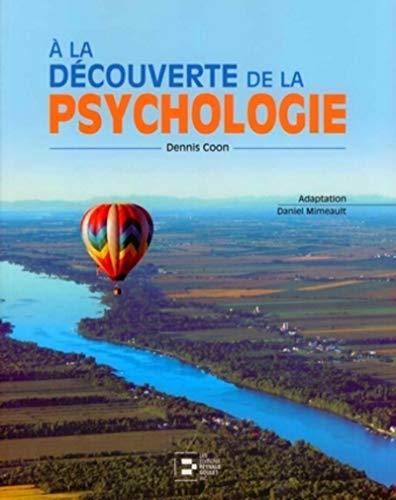 A la d?couverte de la psychologie: n/a