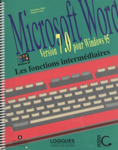Word 7 Windows 95 Intermediaires: Jerome