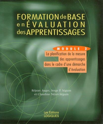 Formation base evaluation module 2: Auger, R.