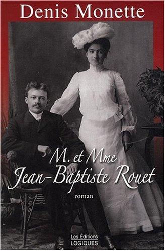 9782893819723: M. et Mme Jean-Baptiste Rouet