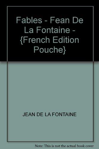 9782893934488: Fables - Fean De La Fontaine - {French Edition Pouche}