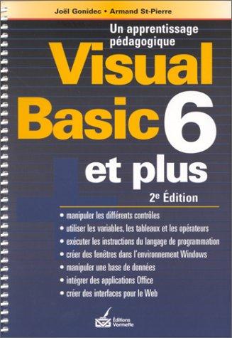 9782894161289: Visual Basic Version 6.0 et plus