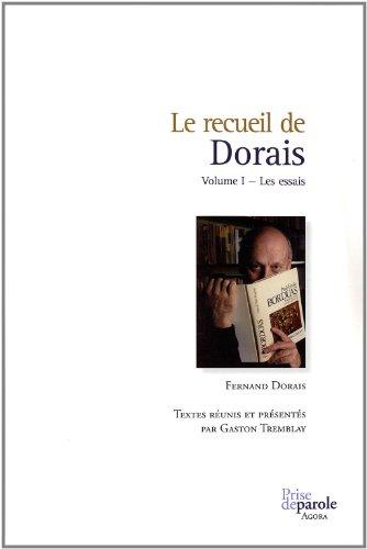 9782894232545: Recueil de Dorais V. 01, les Essais