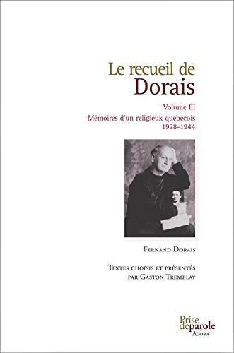 Recueil de Dorais (Le), v. 03: Dorais, Fernand