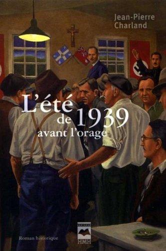 9782894288887: l'ete de 1939 avant l orage