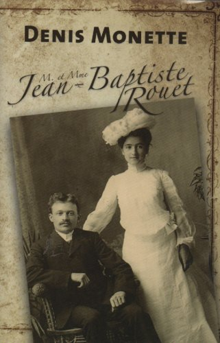 9782894308868: M. et Mme Jean-Baptiste Rouet (French Text)