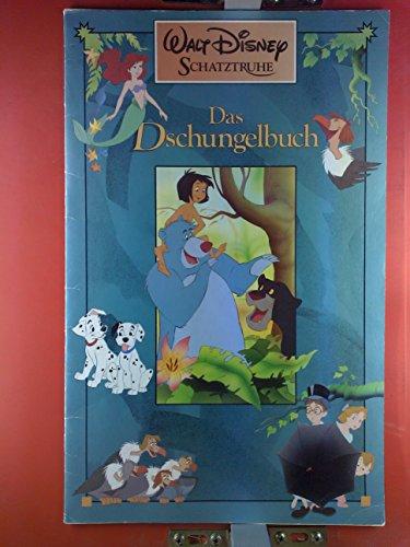 9782894332580: Walt Disney´s Schatztruhe: Das Dschungelbuch-Bambi-Arielle, die Meerjungfrau-Peter Pan - 4 Riesenbücher im Kartonschuber