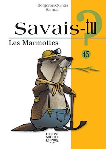 9782894354643: Les marmottes