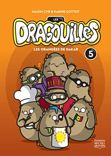 Dragouilles (Les) - Tome 5: - Les orangàs de Dakar
