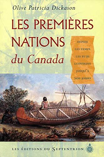 9782894480526: Les Premières nations du Canada