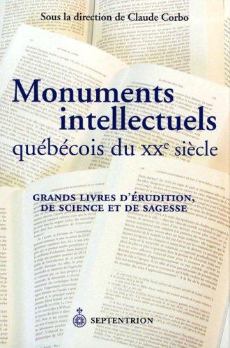 Monuments intellectuels québécois du XXe siècle: Corbo, Claude