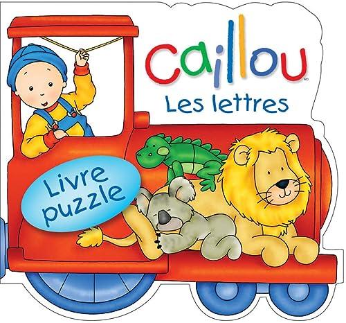 9782894506820: CAILLOU Les lettres