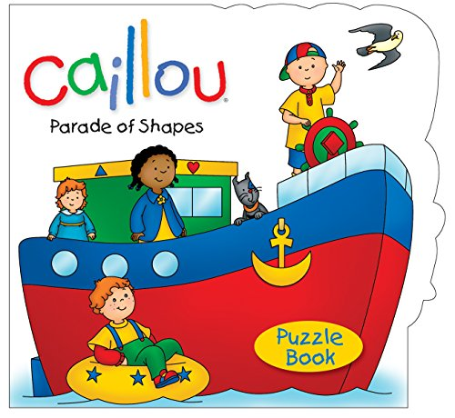 9782894508398: Caillou: Parade of Shapes: Puzzle Book (Puzzle books)