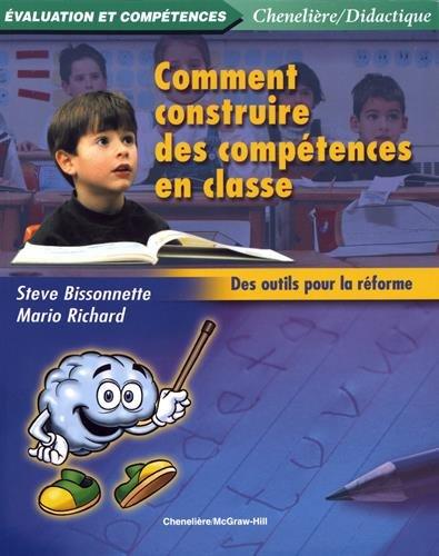 9782894615171: Comment Construire des Comp�tences en Classe