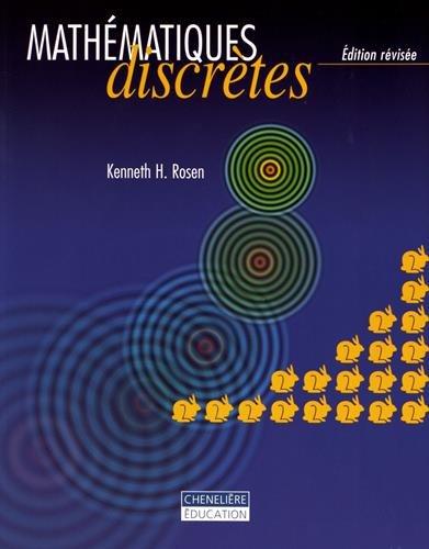 MATHEMATIQUES DISCRETES EDITION REVISEE MANUEL: ROSEN KENNETH H.
