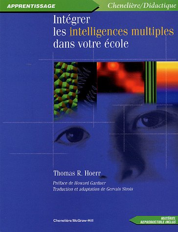 9782894617144: intégrer les intelligences multiples dans votre école