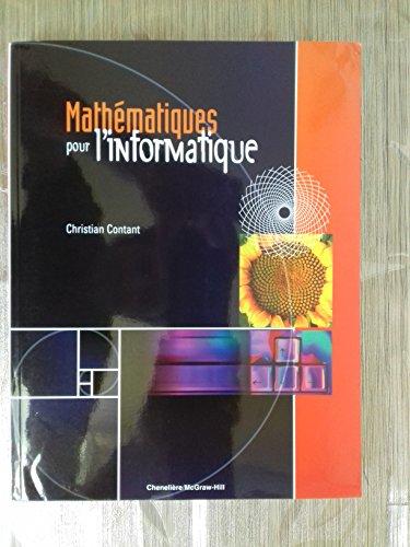 Math?matiques pour l'informatique: Christian Contant