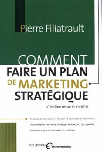 Comment Faire un Plan de Marketing Strat?gique: n/a