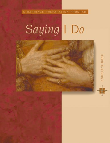 9782895075103: Saying I Do: Couple's Book