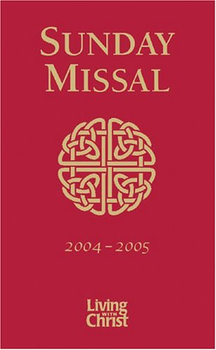 9782895075523: Sunday Missal, 2004-2005 (Living with Christ)