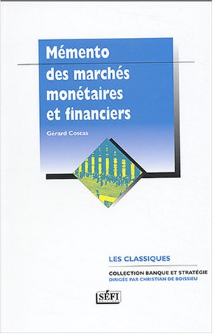 9782895090397: March�s mon�taires et financiers