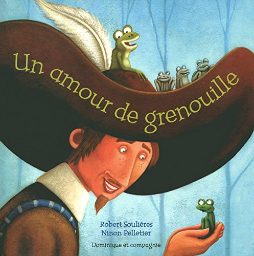 9782895126089: Un amour de grenouille