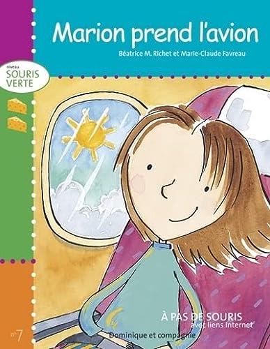 MARION PREND L AVION: SOURIS VERTE/NIVEAU2