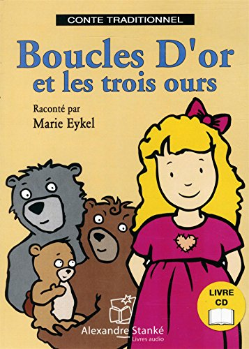 9782895175681: Boucle d'or et les trois ours (1CD audio)