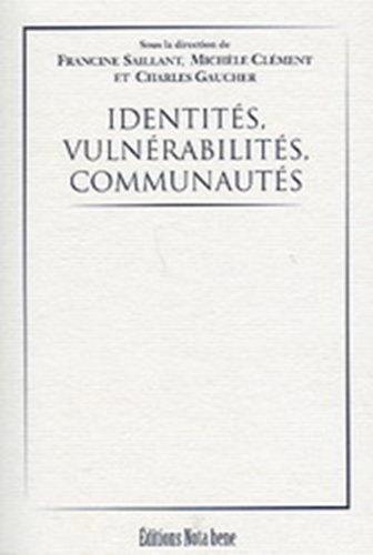 IDENTITÉS, VULNÉRABILITÉS, COMMUNAUTÉS: COLLECTIF