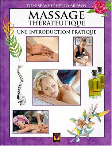 9782895230168: Massage Thérapeutique