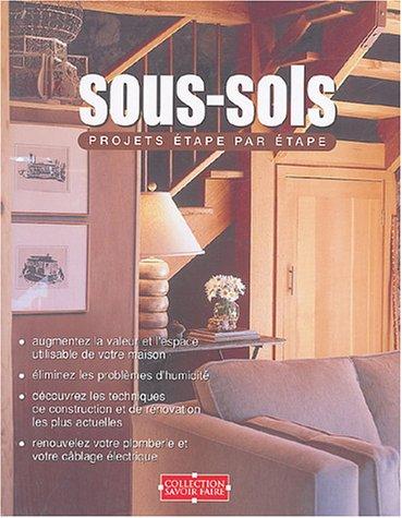 sous-sols ; projets etape par etape: Anonyme