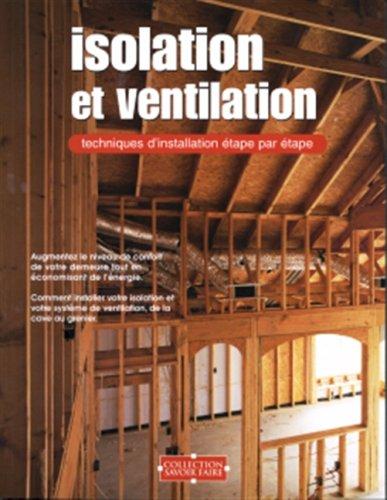9782895233213: Isolation et ventilation : Savoir faire