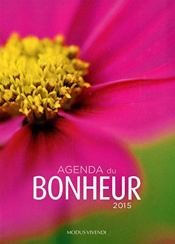 9782895238508: Agenda du bonheur 2015