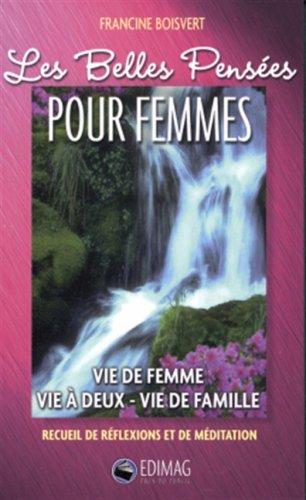 9782895421504: Belles pensees pour femmes -les