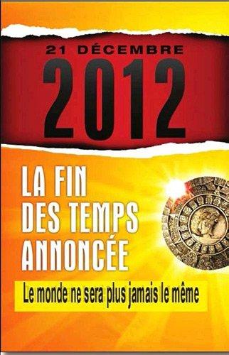 21 DECEMBRE 2012 LA FIN DES TEMPS ANNONC: ZOLTAN CHRISTOPHER