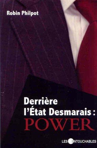 9782895493365: Derrière l'État Desmarais : Power