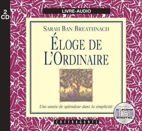 ELOGE DE L ORDINAIRE - CD: BAN BREATHNACH SARAH