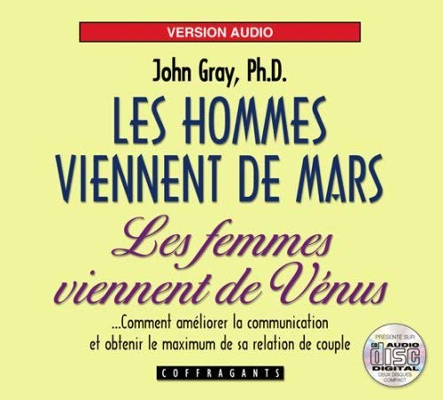 9782895582816: Les hommes viennent de Mars, les femmes viennent de Vénus (1CD audio)