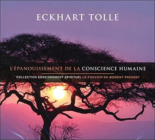 EPANOUISSEMENT CONSCIENCE HUMAINE - 2CD: TOLLE ECKHART