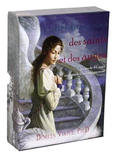 9782895654315: Cartes divinatoires des saints et des anges
