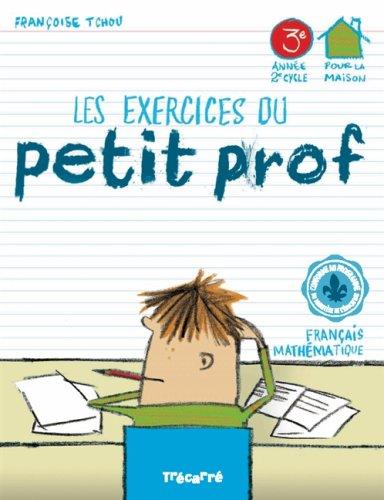 9782895683612: Les exercices du Petit Prof 3e année