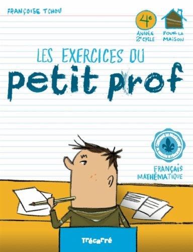 9782895683629: Les exercices du Petit Prof 4e année
