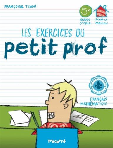 9782895683636: Les exercices du Petit Prof 5e année