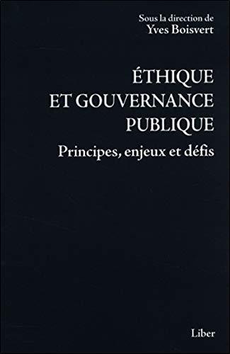 9782895782797: ethique et gouvernance publique